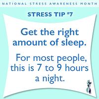 Stress Tip - 7