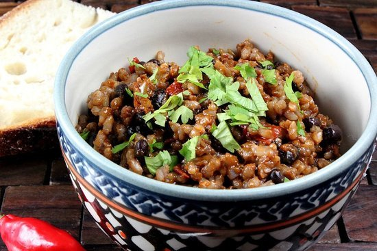 Vegetarian Beans Rice
