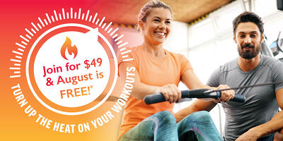 August Memberships Are Free