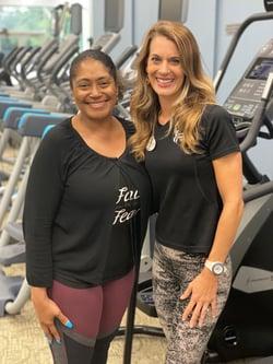 Denise Ervin_Alsion Cardoza_Fitness