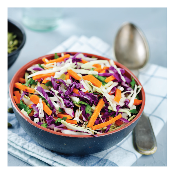 A Healthy Spin on Cole Slaw