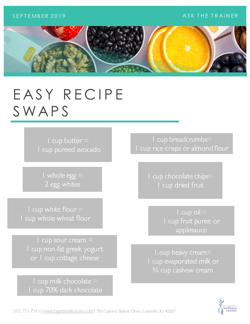 Recipe Swaps