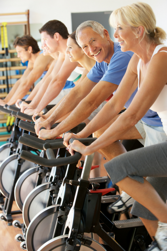 Cycling Group Exercise Class