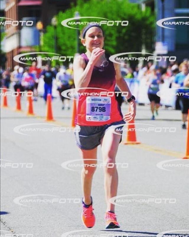Derby Marathon Runner