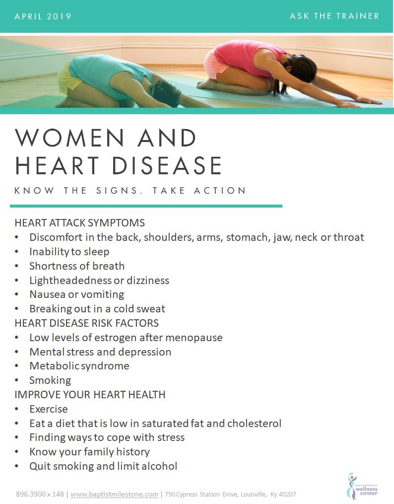 Women & Heart Disease