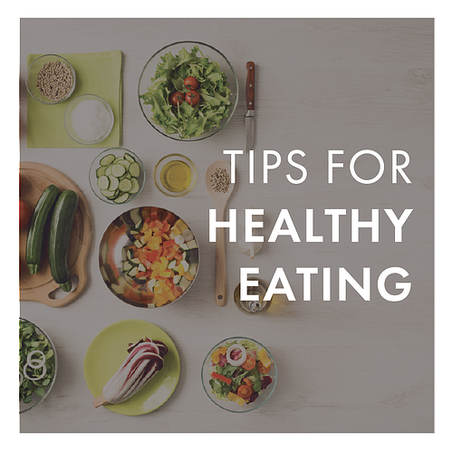 tips for healthy eating Image Template 2019