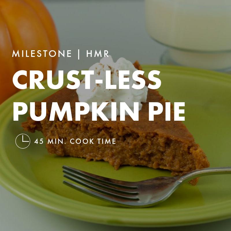 Crust-less Pumpkin Pie